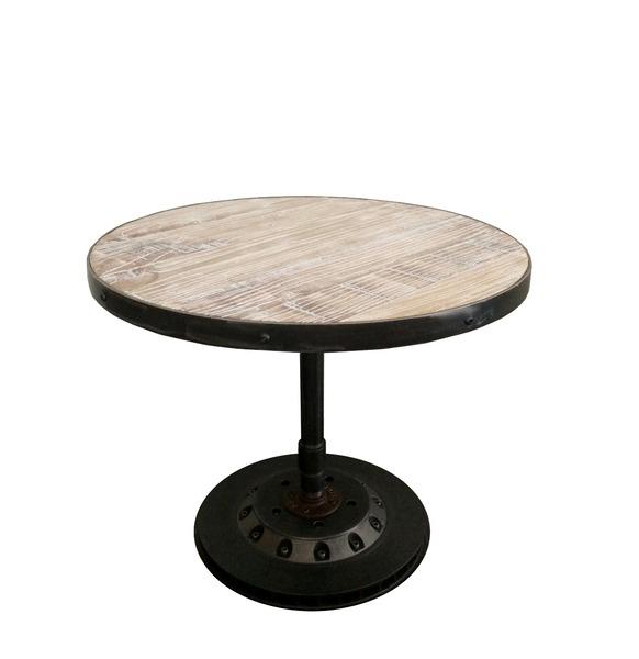 工業水管邊桌
