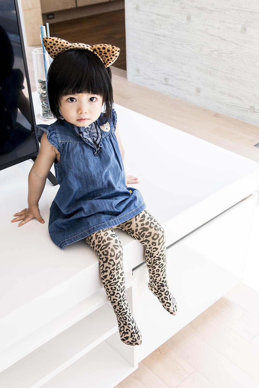 公主童襪咖啡拿鐵小豹
