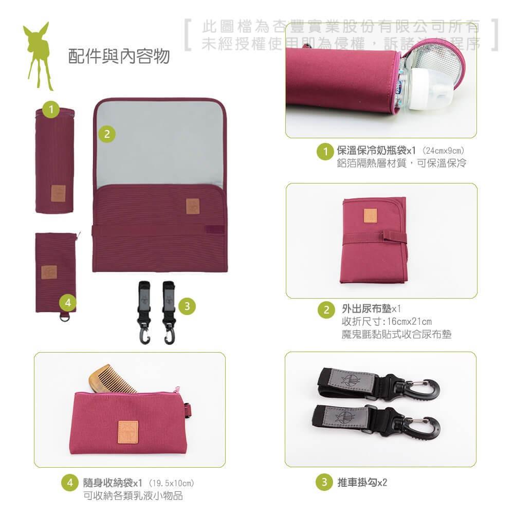 德國媽媽包No.1品牌,LASSIG讓媽媽包不只是媽媽包,兼具時尚與功能性,媽媽包也能小包時尚輕巧實用,外出更便利。可作側背、肩背或腰包,附推車掛勾