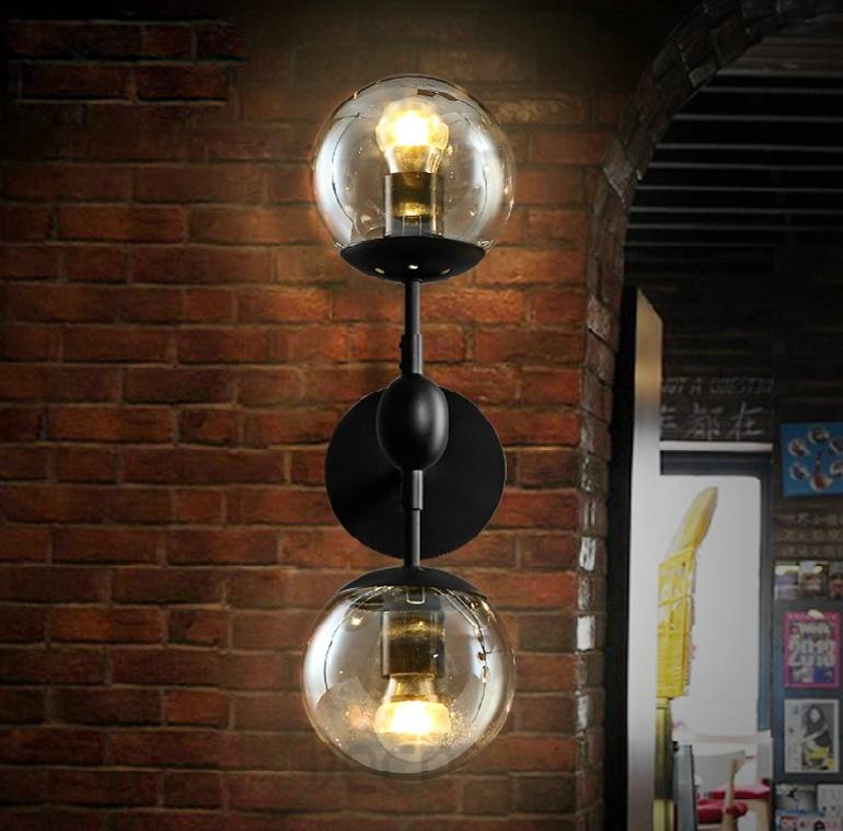 復古玻璃壁燈