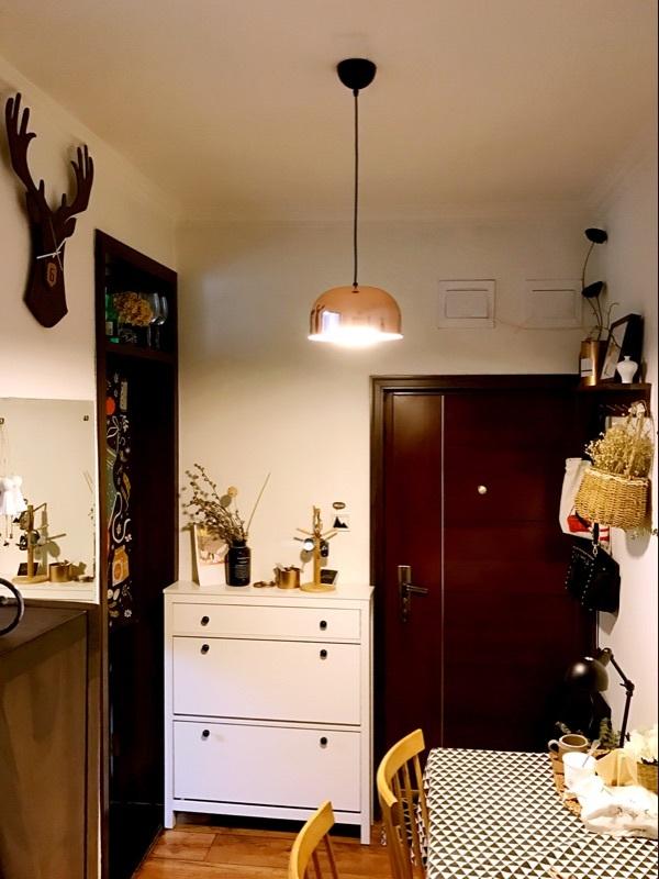 丹麥北歐風黃銅吊燈