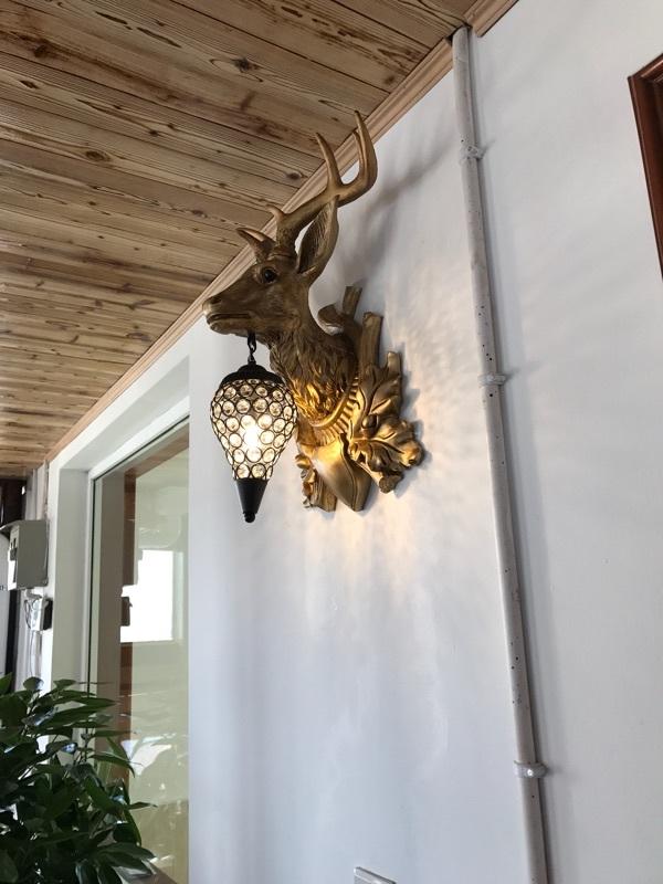 北歐動物燈具